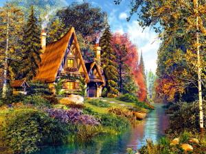 Bajkowy domek